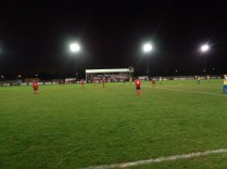 Second half and the game re-starts after Pelsall score their second goal to take the lead again.