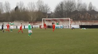 Second half and the Wood find a way through Brocton defence to score their second goal. Elation and joy among the home supporters. How would Brocton respond?