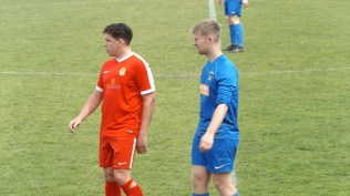 Understandably being closely monitored by a Bolehall player….they made a fine pair.