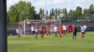 Later in the second half and the Wood put Whitchurch under pressure.
