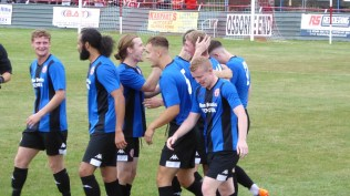 Sheer elation and surely an image that Ilkeston will treasure this season.