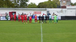 Walsall Wood welcome the lofty players from Coventry before a positive sporting display of soccer commences