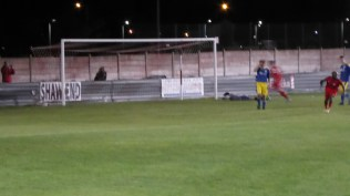 Goal to the Wood leaves a dejected goalkeeper prostrate and forlorn. Love the Wood