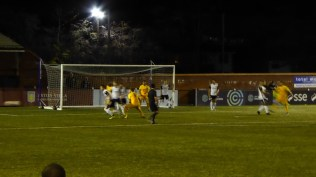 Later in the first half and the Wood's powerful play is proving itself, again and again. How will Boldmere respond?