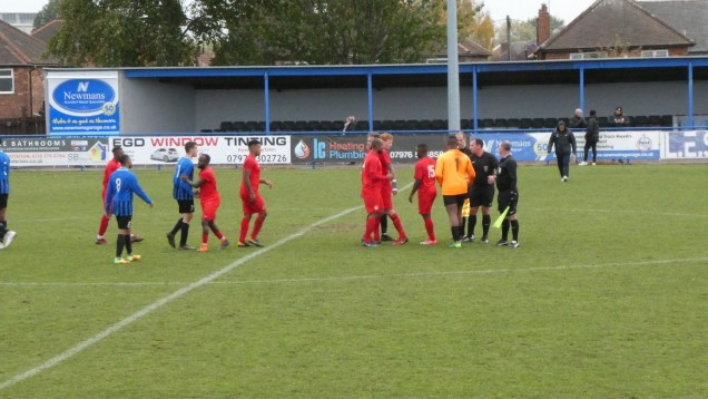 Handshakes all round, between players who have given the spectators a game to enjoy and remember.