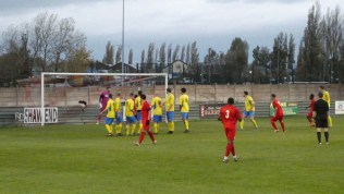 Second half. Free kick to the Wood and an excellent goal. The Wood are on song.