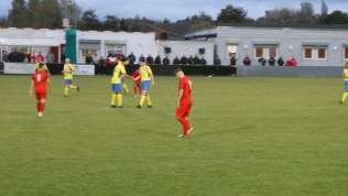 A brief moment to celebrate and then Dronfield set their minds on scoring another goal.
