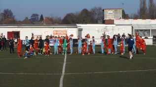 A fine , bright afternoon and an important match for both teams, today