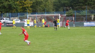 The Wood score their second goal early in the second half, giving Tividale a greater challenge. How will they respond?