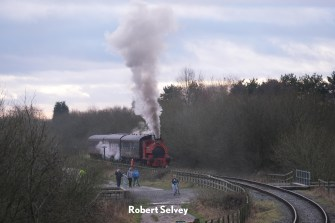 "W G Bagnall 0-4-0st ""Kent No.2"" Works No. 2842 of 1946 norton pool causeway 22 december 2019"