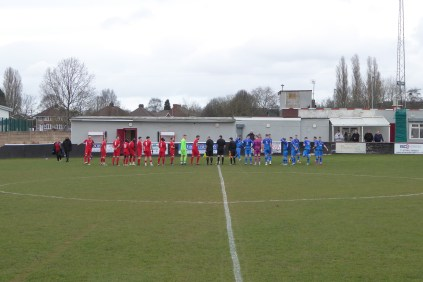 Today's visitors played in blue