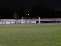 The Wood's first of three goals…all in a blur, sadly. Wood re-energised in the second half