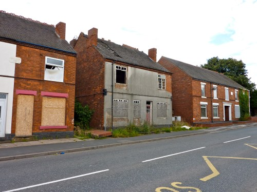 One by one, these dwellings have fallen into disuse...