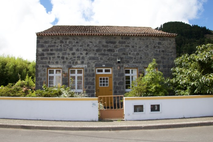 Typical houses in Azores