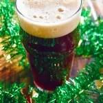 Irish red envy craft beer