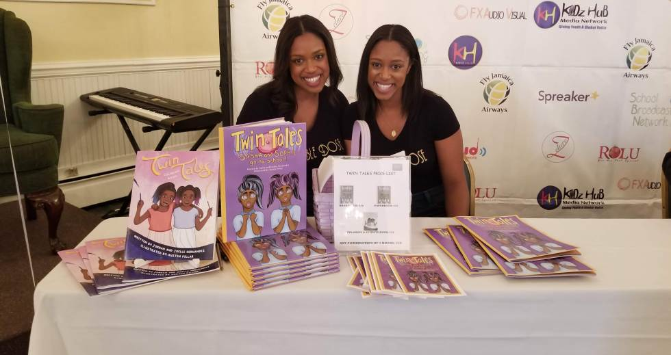 """""""Twin Tales"""" Authors at Brown Kids Read Event"""