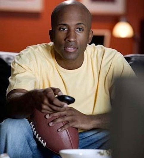 Turn on the game for him