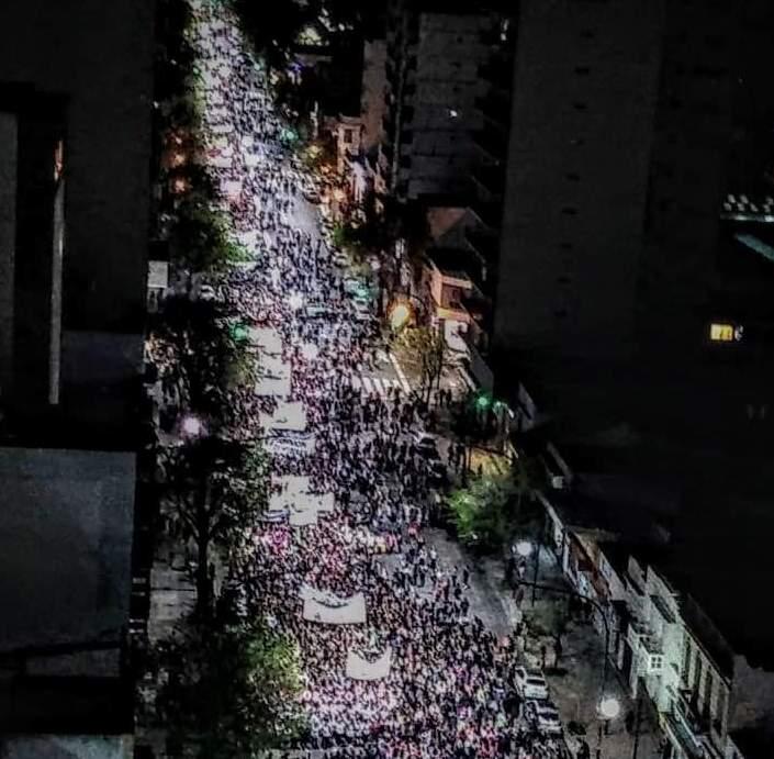Una marea de 200 mil mujeres en el cierre del Encuentro Nacional de La Plata