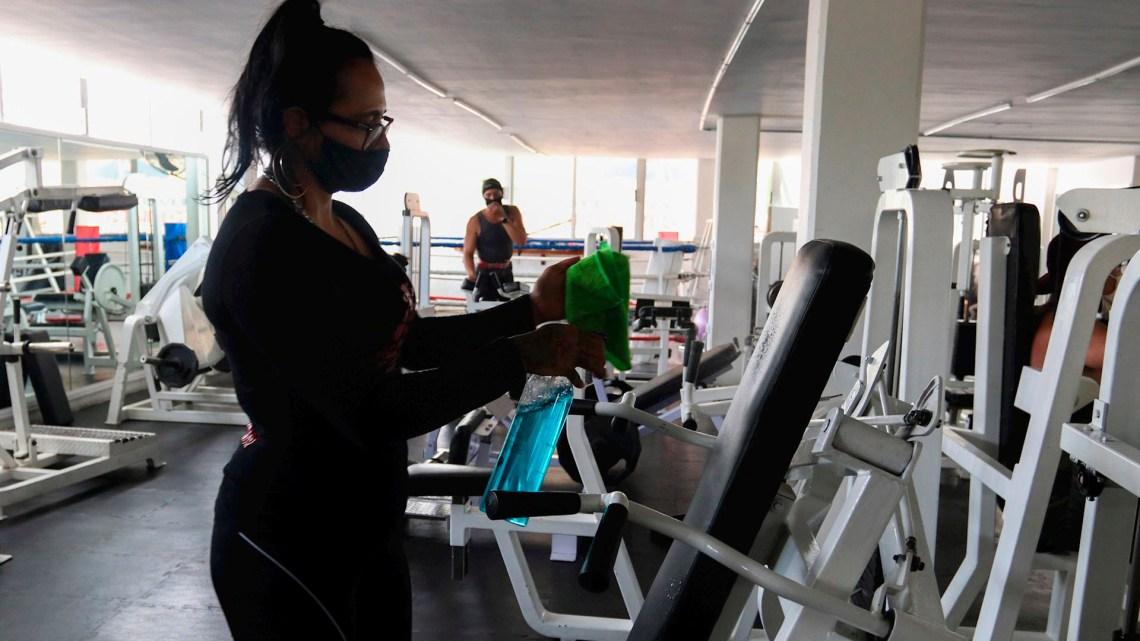 Con protocolo, reabrieron los gimnasios en la región - Brown Online