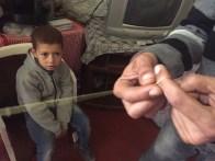 Threading djellaba wire