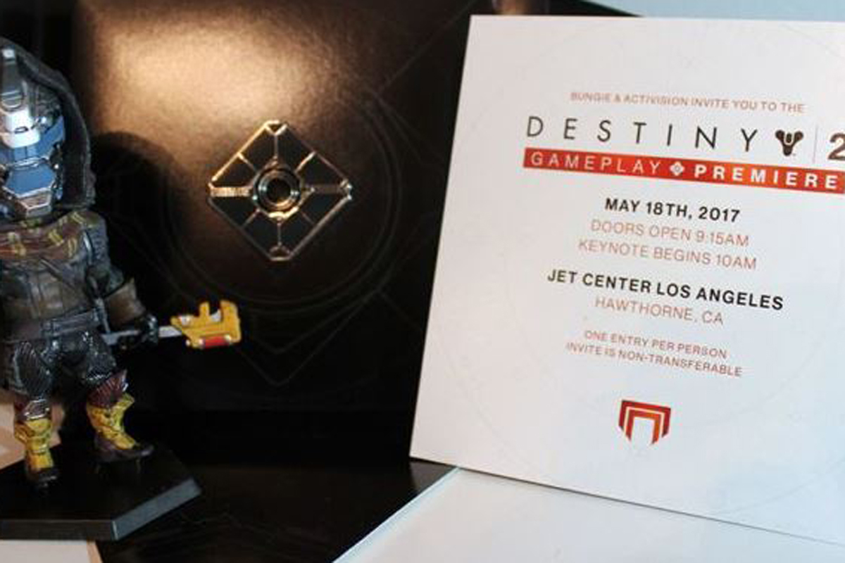 Destiny 2 Launch Event