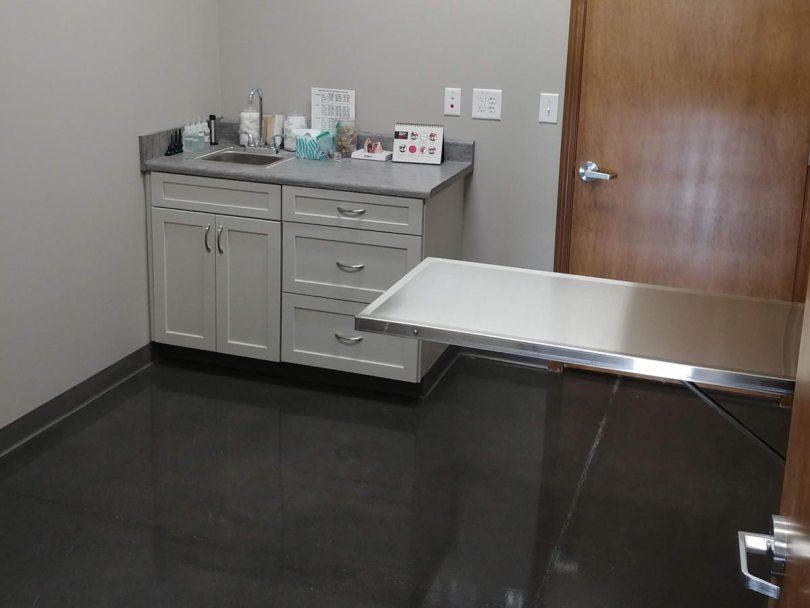 Brownsburg Animal Clinic exam room