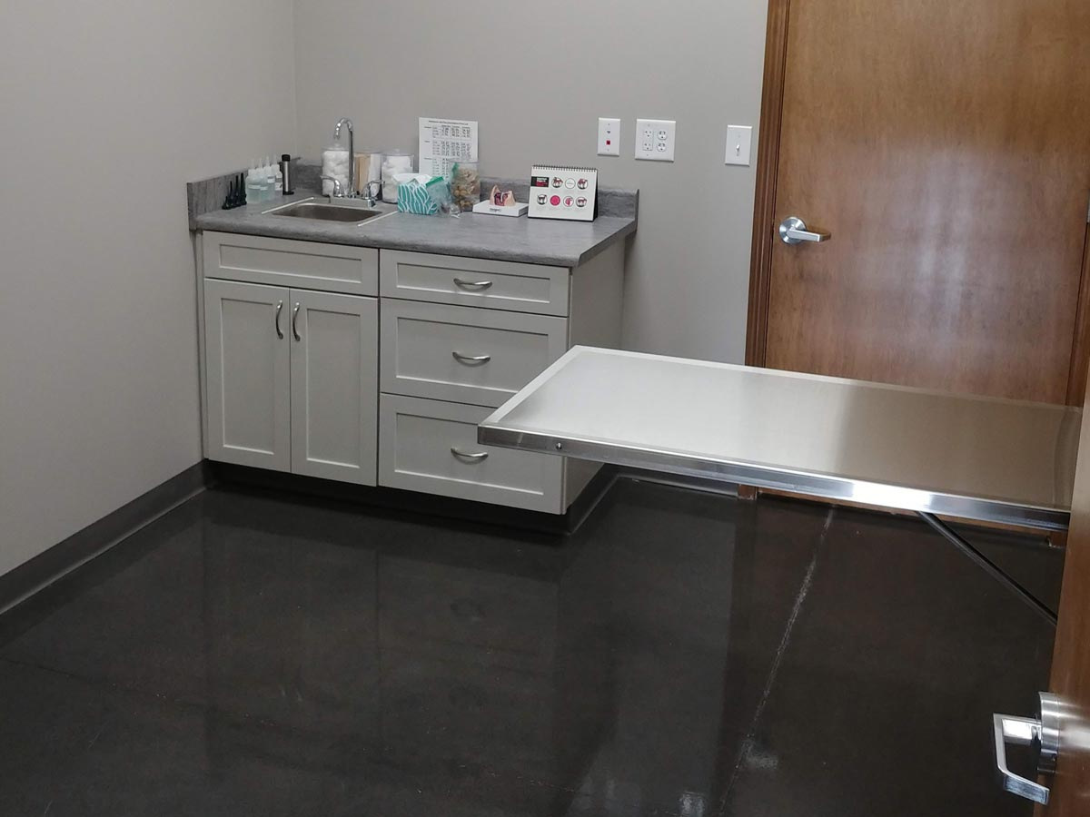 Brownsburg Animal Clinic exam room