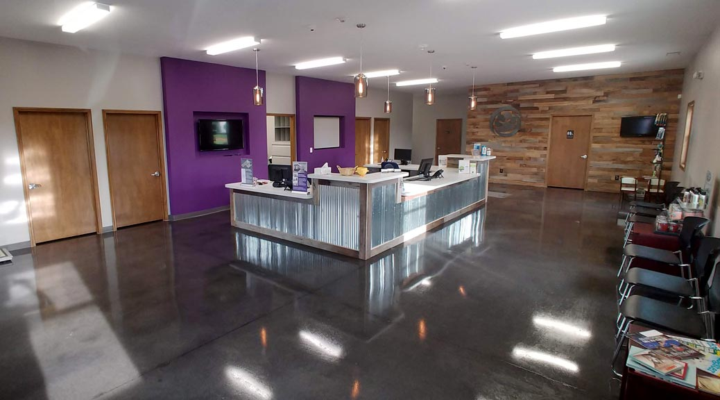 Brownsburg Animal Clinic lobby