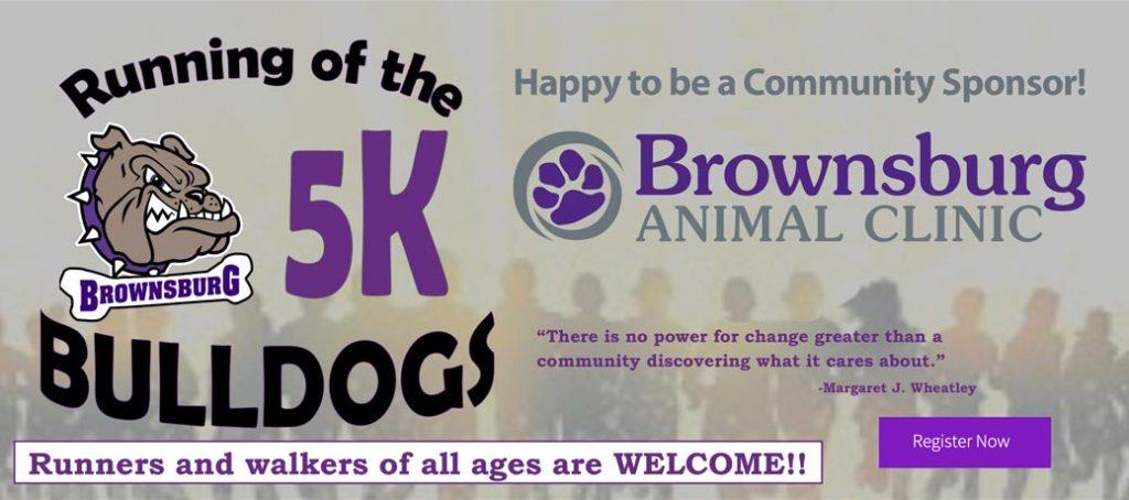Running of the Bulldogs 5K sponsorship