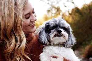 Tara Williams, DVM, and her dog Brody