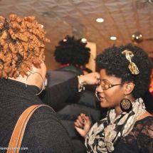 Brown Skin Women Networking
