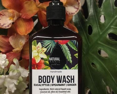 Currently crushing on NaturalAnnie Essentials Body Wash
