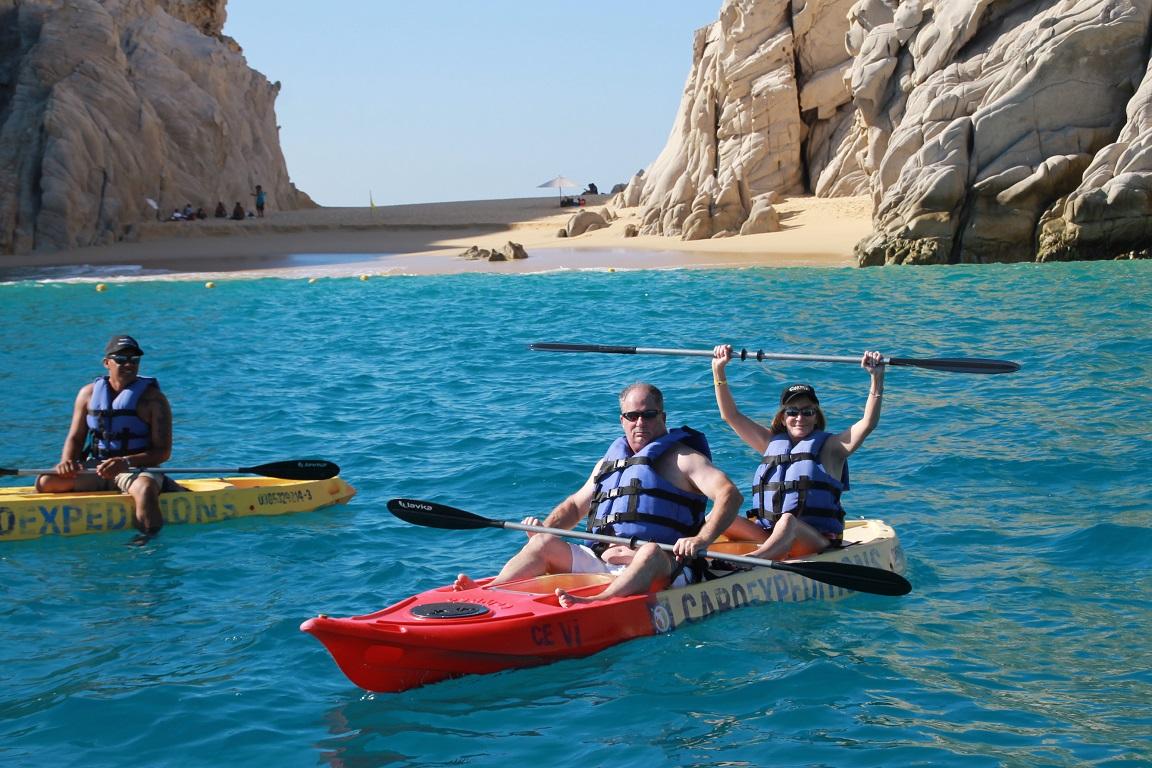 Kayak Snorkeling