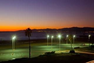 Dockweiler Beach State Park, Los Angeles , California
