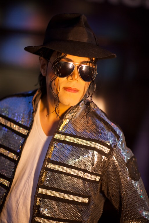 Michael Jackson impersonator, Hollywood Boulevard