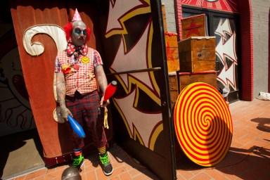 The Freak Show, Venice Beach, Venice, Los Angeles, California, USA