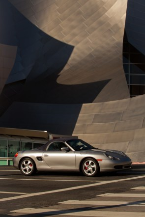 Porsche at the Walt Disney Concert Hall, Los Angeles, California
