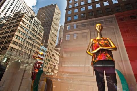 Manikins at Saks Fifth Avenue, Manhattan, New York City, New York, United States of America
