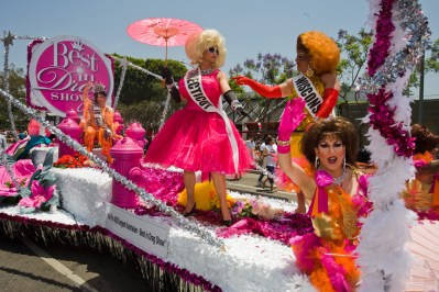 West Hollywood Gay Pride Parade, Los Angeles, California