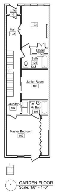 Garden Floor Layout 3