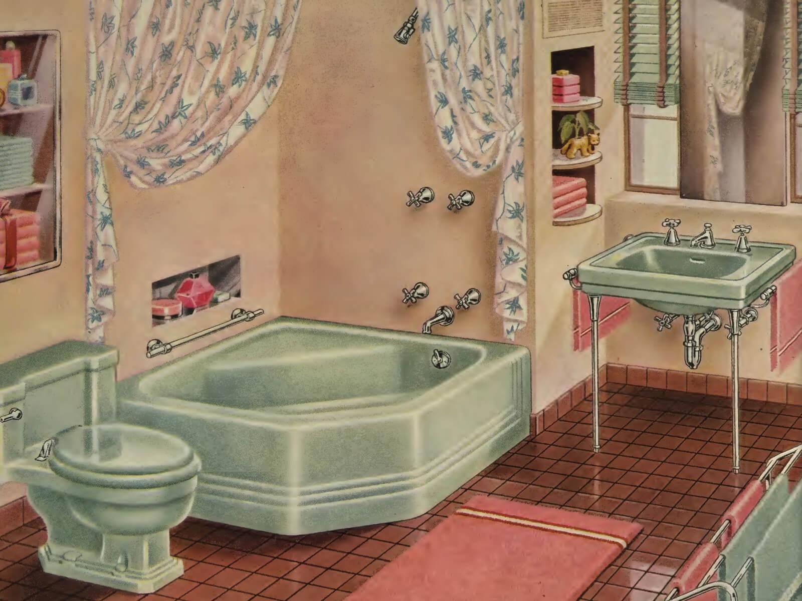 Victorian Bathroom: A Quick History Of The Bathroom