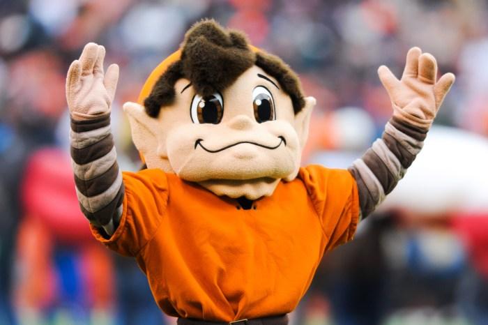 Brownie the Elf resurfaces as Browns training camp logo