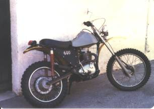 1972 BSA B50MX After