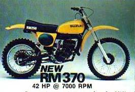 1977 Suzuki RM370
