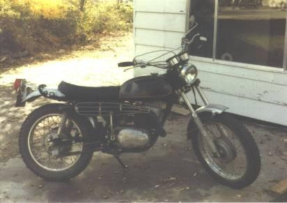 1971 Yamaha 250 Enduro