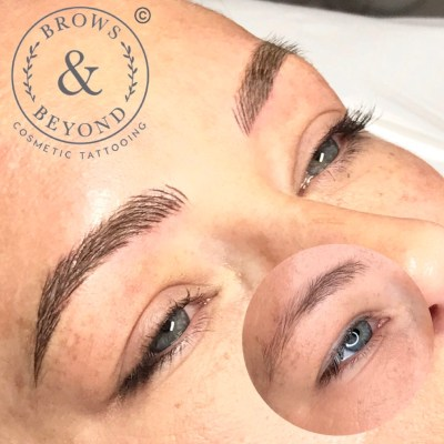 Microblading Feathered Brows