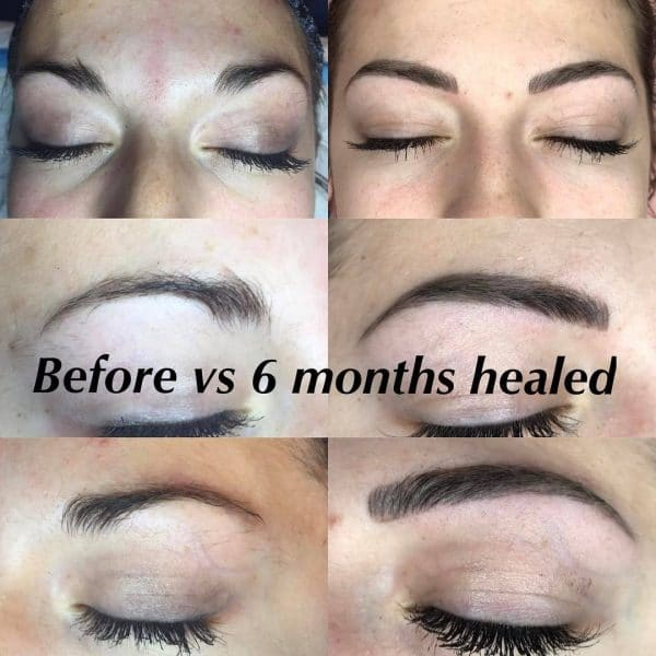 30 beautiful microblading before and after pictures from for How long does it take for a tattoo to fade