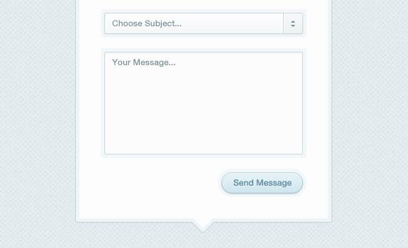 Modal Box Contact Form (PSD)