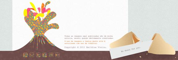Iemai - Website Footer Design
