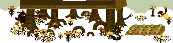 Meomi - Footer Design